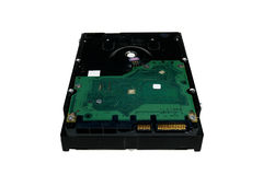Hardware Computer  harddisk drive Royalty Free Stock Image