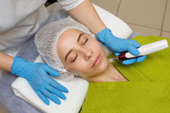 Hardware cosmetology. Mesotherapy Stock Photo