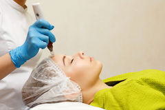 Hardware cosmetology. Mesotherapy Stock Image