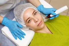 Hardware cosmetology. Mesotherapy Stock Photos