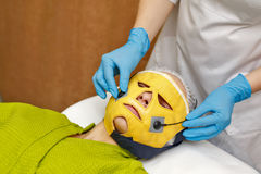 Hardware cosmetology. Microcurrents Stock Image