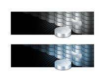 Hardware del disco del servidor de la red de ordenadores fotos de archivo libres de regalías