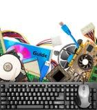 Hardware di calcolatore fotografia stock libera da diritti