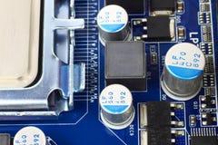 Hardware di calcolatore alta tecnologia Fotografie Stock Libere da Diritti