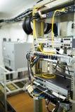 Hardware di telecomunicazioni tappato Fotografia Stock Libera da Diritti