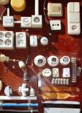 Hardware electic equipment vintage display Royalty Free Stock Photo