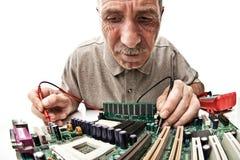 Hardware expert Stock Image