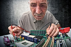 Hardware-Experte lizenzfreies stockbild