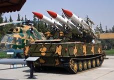 Hardware militare siriano immagini stock