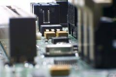 Hardware - placa madre Foto de archivo libre de regalías