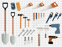 Hardware store Royalty Free Stock Photos