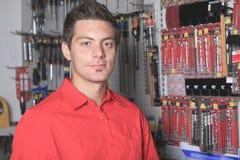 Hardware store employee Royalty Free Stock Photo