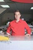Hardware store employee Stock Photography