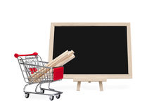 Hardware store shopping Royalty Free Stock Photos