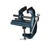 Hardware tool, bench vise Stock Images