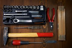 Hardware Tools Royalty Free Stock Photography