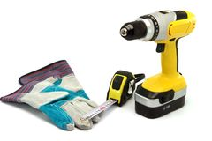 Hardware tools royalty free stock image