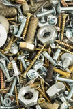 Hardware tools as background. Texture Stock Image