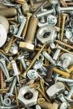 Hardware-Werkzeuge als Hintergrund Stockbild