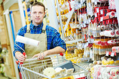 Hardwarer store worker or buyer Stock Photo