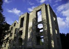Hardwick老霍尔废墟 免版税图库摄影