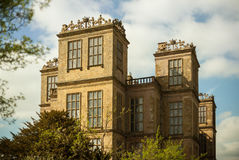 Hardwick Hall, Derbyshire, Anglia Obraz Royalty Free