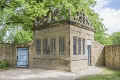 Hardwick Hall Gatehouse image libre de droits