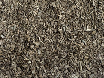 Hardwood bark mulch Stock Image