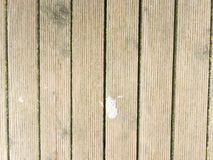 Hardwood board made of hardwood resists weathering. Wooden pier above sea. Touristic mole with still  wet wooden floor above sea. Soft focus Stock Images