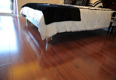 Hardwood floor Royalty Free Stock Photos