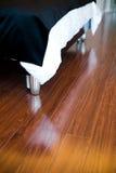 Hardwood floor Stock Image