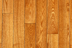 Hardwood floor. Hardwood oak floor boards view from above background Stock Photography