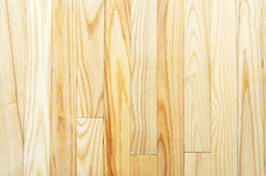 Hardwood floor background. Close-up picture of light-coloured hardwood floor (background, texture Royalty Free Stock Photography