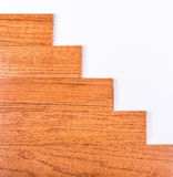 Hardwood floor installation Royalty Free Stock Images