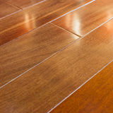 Hardwood floorboard Stock Image