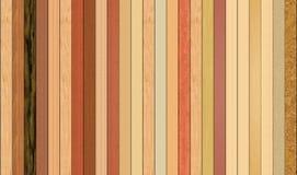 Hardwood flooring. Samples of 25 types of hardwood flooring stock illustration