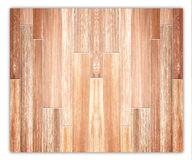 Hardwood Maple Basketball Court Floor Royalty Free Stock Images