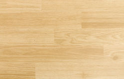 Hardwood maple basketball court floor viewed from above Royalty Free Stock Images