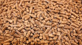 Hardwood Pellets Royalty Free Stock Photos