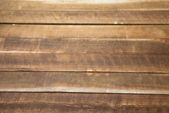 Hardwood Planks. Closeup of a stack of Hardwood planks royalty free stock photography