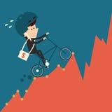 Hardworking concept stock illustratie