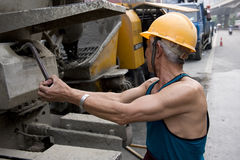 Hardworking laborer Stock Photos
