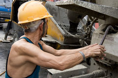 Hardworking laborer Royalty Free Stock Photos