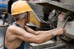 Hardworking laborer Royalty Free Stock Photos