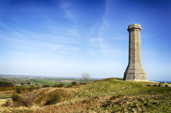 Hardy Monument. The Hardy monument on Black Down at Porchester near Dorchester in Dorset stock photography