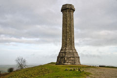 The Hardy Monument  Stock Image