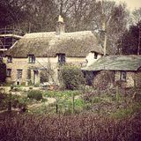 Hardys cottage. Thorncombe woods  dorchester dorset Royalty Free Stock Image