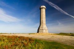 Hardys Monument. In memory of commander at the Battle of Trafalgar. Dorchester, Dorset, England, United Kingdom stock photo