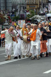 Hare Krishna demonstration Royalty Free Stock Image