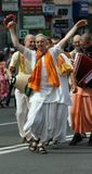 Hare Krishna demonstration Stock Photography